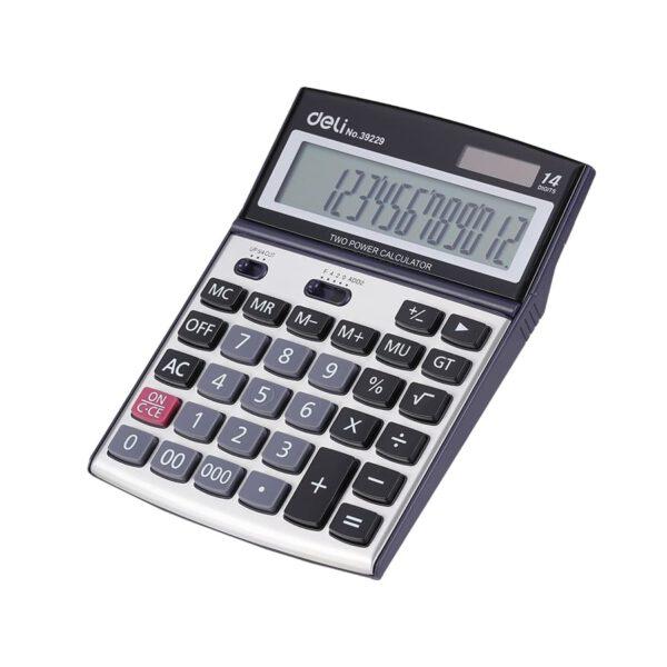 ماشین حساب رومیزی E39229 دلی
