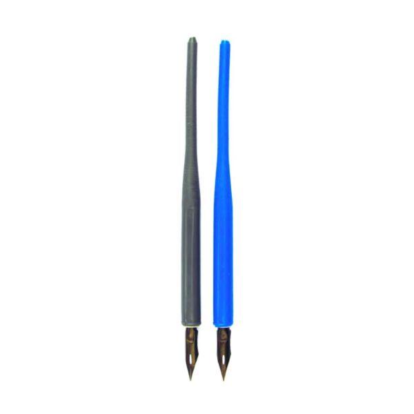 قلم خطاطی فلزی کاتب