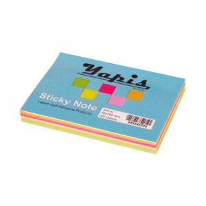 کاغذ یادداشت چسب دار 3x4 بسته 100 عددی یاپیش