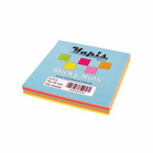 کاغذ یادداشت چسب دار 3×3 بسته 100 عددی یاپیش