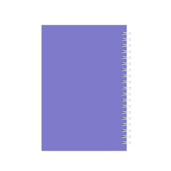 دفتر یادداشت سیمی 50 برگ 1/8 مهرآذر