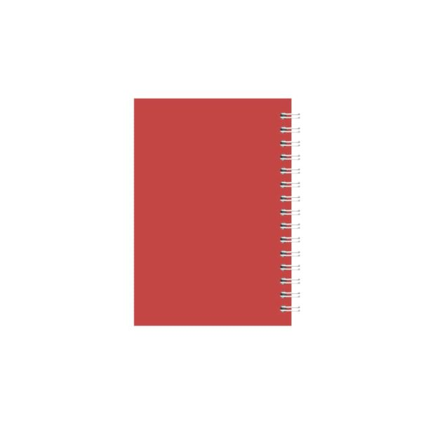 دفتر یادداشت سیمی 50 برگ 1/12 مهرآذر