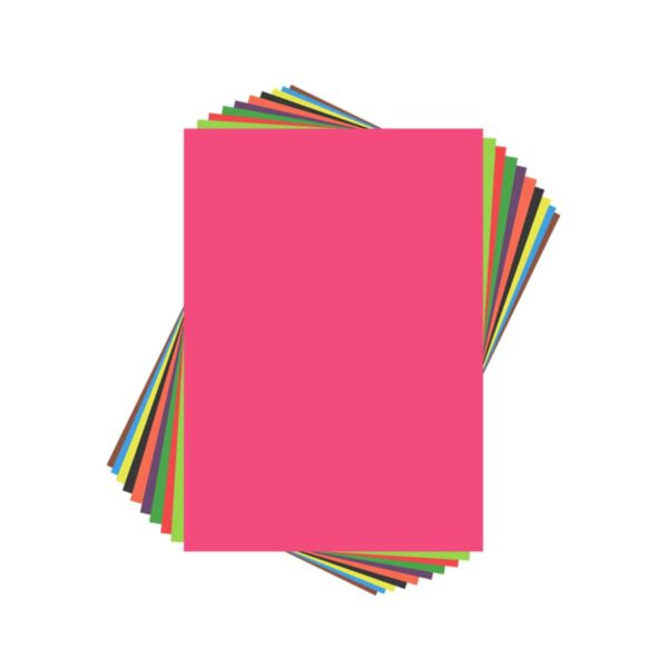 کاغذ رنگی بسته 10 عددی
