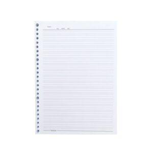 کاغذ کلاسور زبان 26 سوراخ بسته 80 عددی پاندا