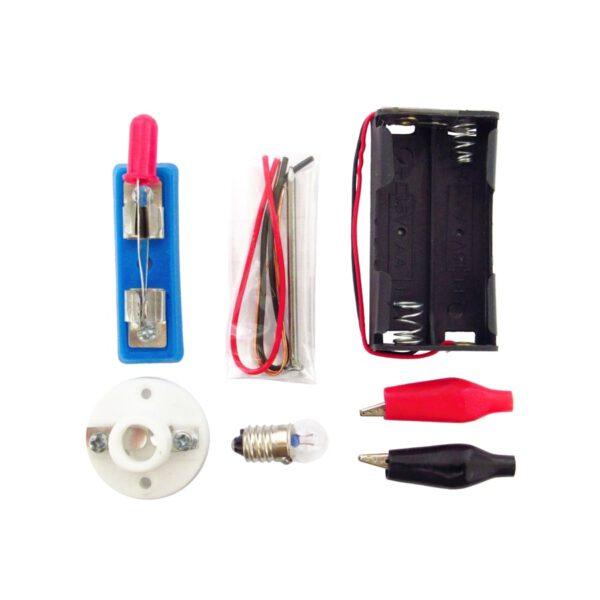 کیت الکتریکی لامپ و آهنربای الکتریکی