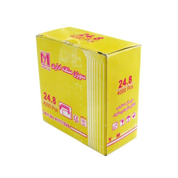 سوزن منگنه سایز 24/8 بسته 4000 عددی مسوار یزد منگنه
