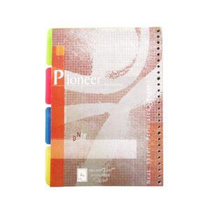 کاغذ کلاسور خطی 26 سوراخ دیوایدر دار بسته 100 عددی نور